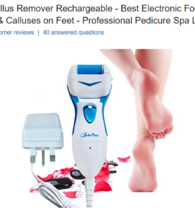 Powerful Electric Callus Remover Rechargeable (CM-201)