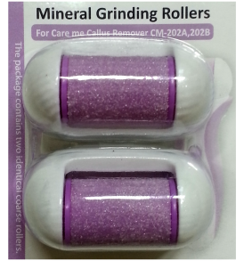 Replacement Rollers (a pack of 2) for model# CM-202 B (purple)