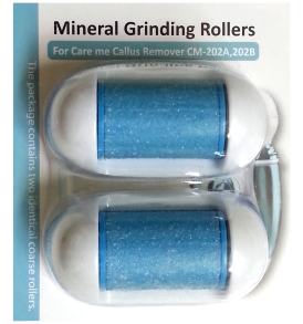 Refill Rollers (a pack of 2) for Model# CM-202 (blue or aqua)