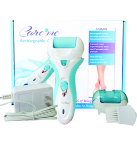 Electric Callus Remover Rechargeable (CM-202B) Aqua