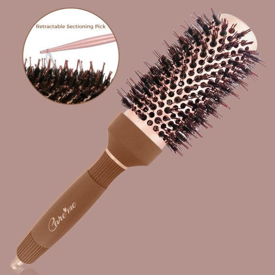blowdry round brush for blow drying