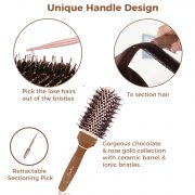 round brush for hair dryer