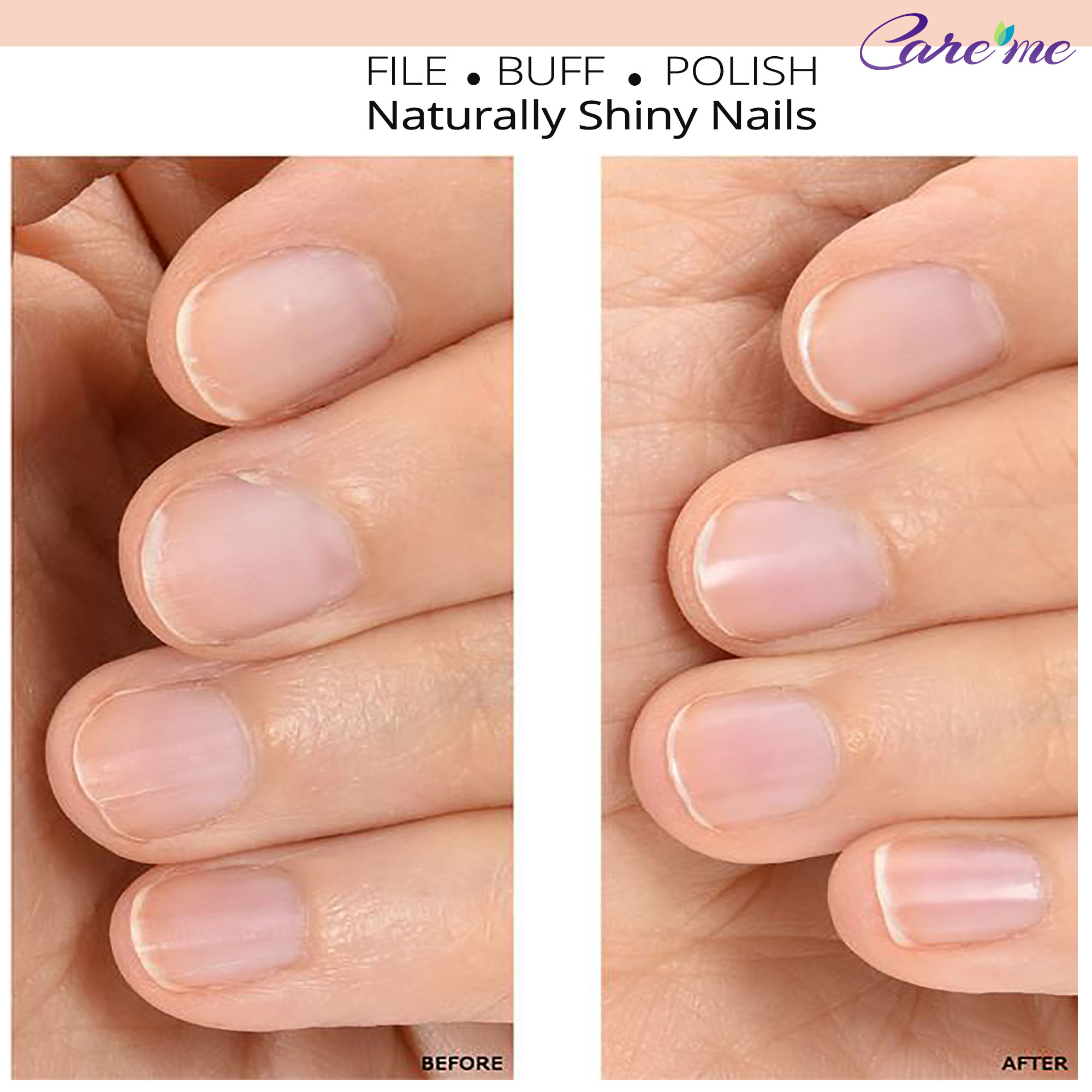 Coarse hard naked nail