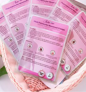Heat Patches for Menstrual Cramps and Period Pain Relief (3 pcs)