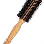 Wooden Hairbrush Round